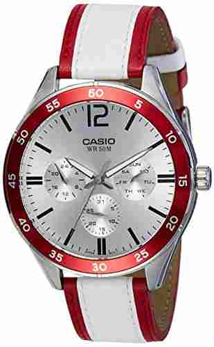 Casio Enticer MTP-E310L-4AVDF (A1182) Analog Silver Dial Men's Watch