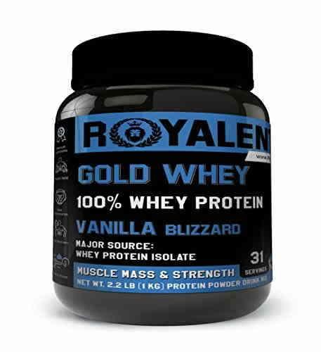 Royalent Gold Whey Protein (1Kg, Vanilla)