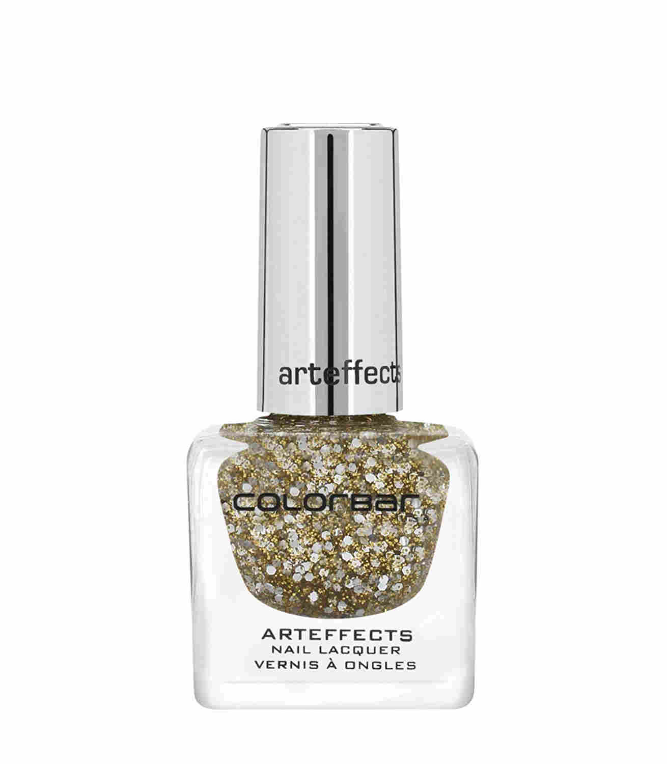 Colorbar Art effect Nail Paint , 12 ML Disco Gold