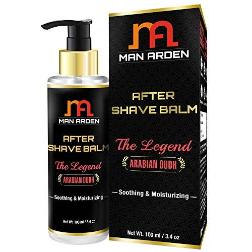Man Arden After Shave Balm - The Legend (Arabian Oudh) - Soothing & Moisturizing 100ml (Pack Of 2)