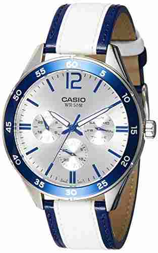 Casio Enticer MTP-E310L-2AVDF (A1181) Analog Silver Dial Men's Watch