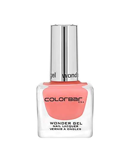 Colorbar CWG003 Wonder Gel Nail Lacquer, Pink Pursuit 003