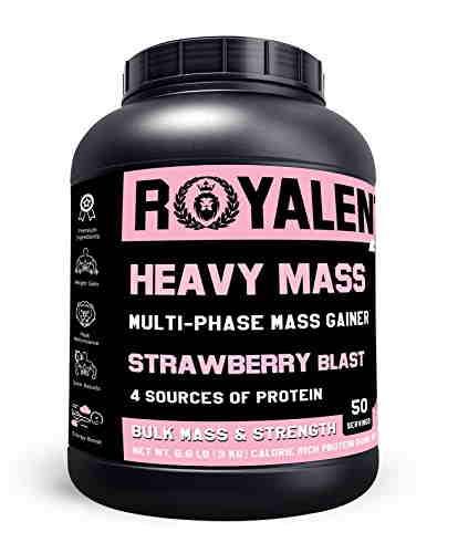 Royalent Heavy Mass (3Kg, Strawberry)