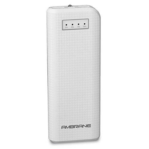 Ambrane P-1200 12000mAh Power Bank (White)