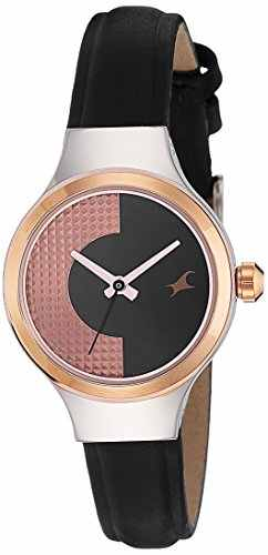 Fastrack 6134KL01 Analog Black Dial Women's Watch (6134KL01)