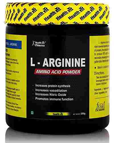 Healthvit L-Arginine Amino Acid Powder (200gm)