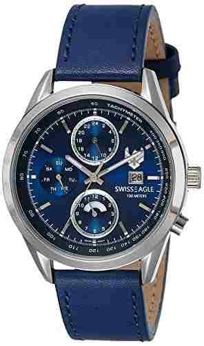 Swiss Eagle SE-9093LS-SS-02 Analog Watch (SE-9093LS-SS-02)
