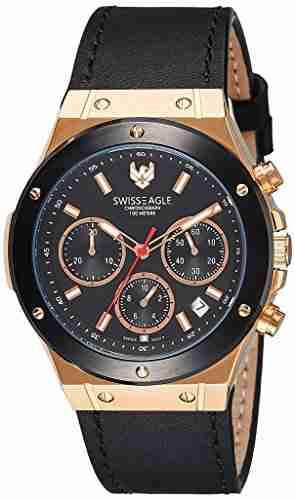 Swiss Eagle SE-9088LS-RG-01 Analog Watch