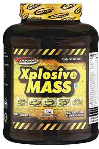 Olympia Xplosive Mass weight gainer (2Kg / 4.41lbs, Chocolate)