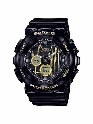 Casio Baby-G BA-120SP-1ADR (B174) Analog-Digital Black Dial Women's Watch
