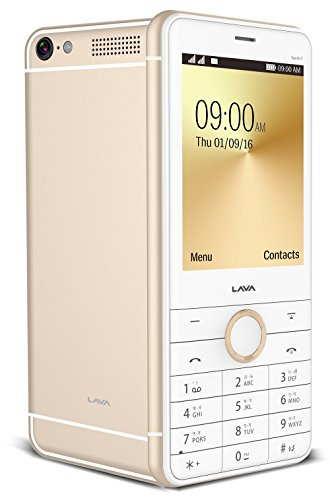 Lava Spark i7 White - Gold Mobile