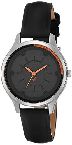 Fastrack 6138SL02 Analog Grey Dial Women's Watch