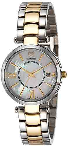 Swiss Eagle SE-9096B-TTYG-03 Analog Watch (SE-9096B-TTYG-03)