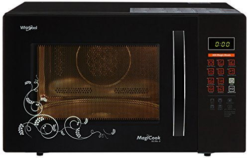 Whirlpool Magicook Elite 30 Lts Convection Microwave Oven Black