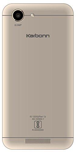 Karbonn Titanium Vista 3G 8GB White Champagne Mobile
