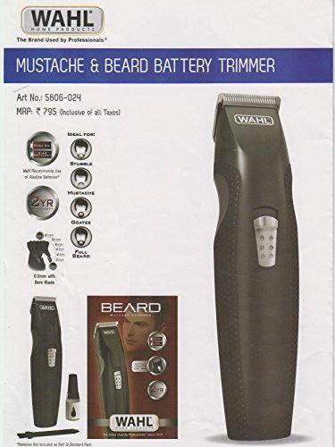 Wahl 5606 024 Mustache & Beard Trimmer