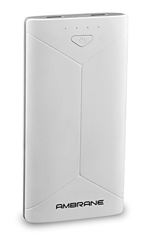 Ambrane P-2080 16000mAh Power Bank (White-Grey)