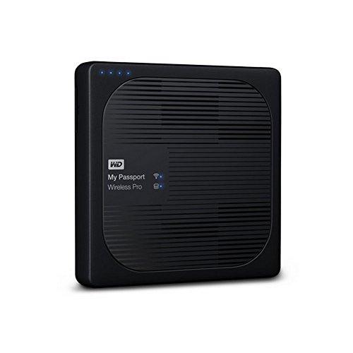 WD WDBP2P0020BBK My Passport Wireless Pro 2TB Portable External Hard Drive Black