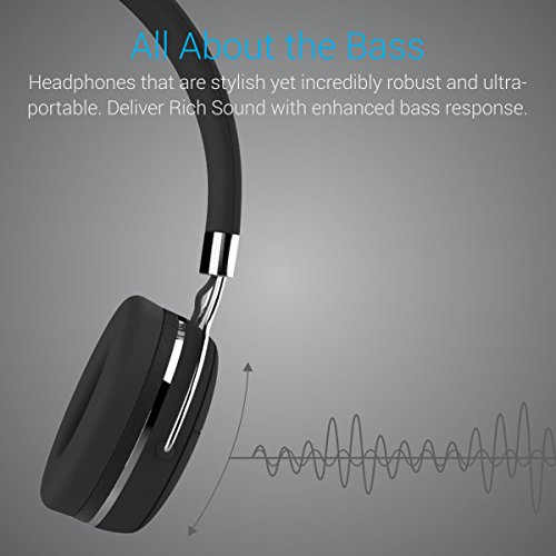 Portronics POR-645 Muffs Pro Stereo Bluetooth Headset