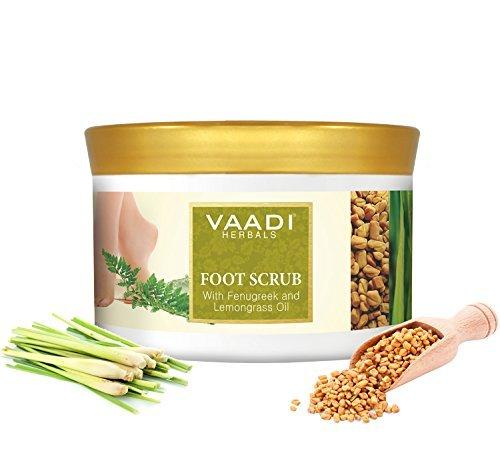 Vaadi Herbals Foot Scrub With Fenugreek And Lemongrass Oil