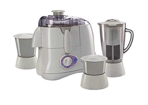 Glen GL4015JMG 500 Watts Juicer Mixer Grinder, (3 Jars)