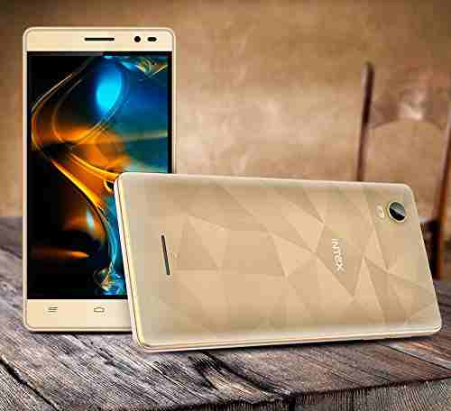 Intex Aqua Power HD 16GB Champagne Mobile