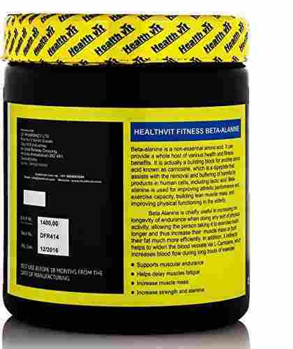 Healthvit Beta Alanine Powder 0.45Lbs