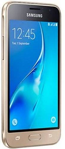 Samsung Galaxy J1 (Samsung SM-J120GZDDINS) 8GB Gold Mobile