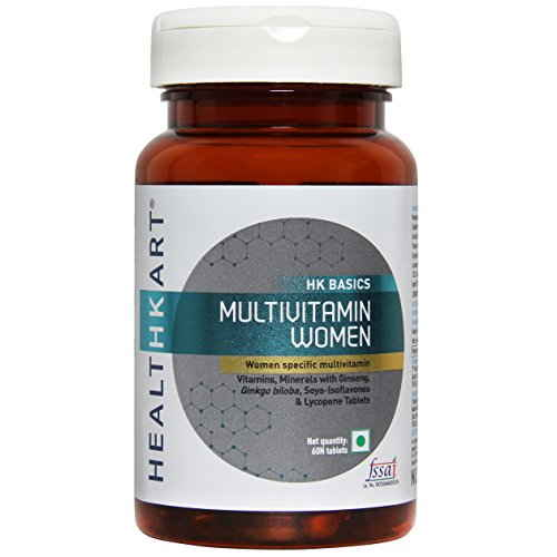Healthkart Multi Vitamin Women Supplement (60 Capsules)