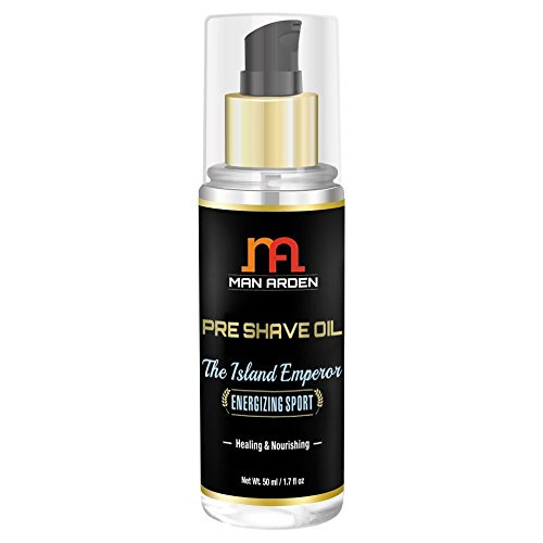 Man Arden Pre Shave Oil The Island Emperor Healing & Nourishing, 50 ML