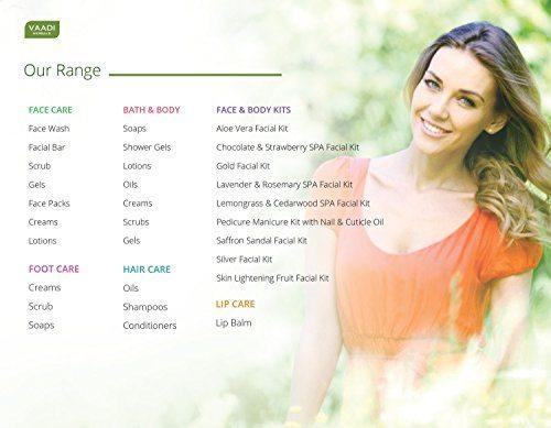 Vaadi Herbals Fresh Fruit Massage Cream, Apple Papaya And Kukum Butter (500gm)