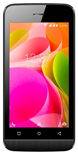 Intex Aqua 4.0 4G 4GB Black Mobile