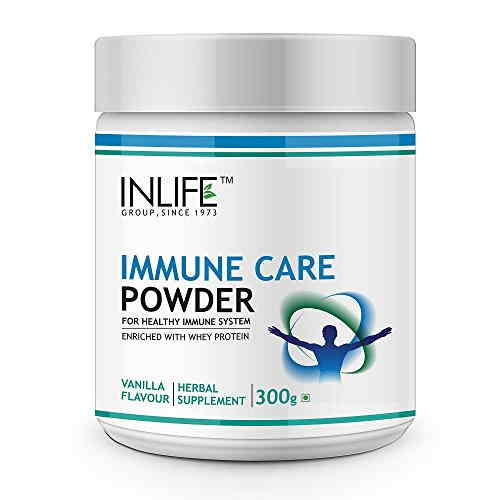 Inlife Immune Care Powder (0.66lbs, Vanilla)