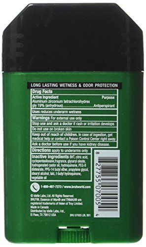 Brut Oval Solid Anti-Perspirant Deodorant For Men, 60 ml
