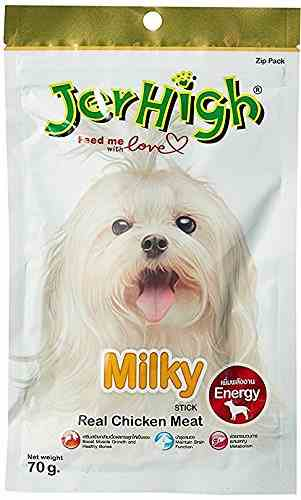 Jerhigh Milky Dog Treat 70 gm (Pack of 6)