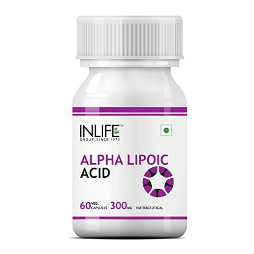 Inlife Alpha Lipoic Acid 300mg Supplement (60 Capsules)