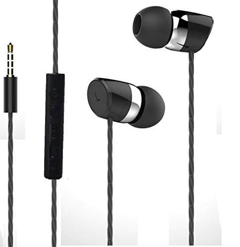 JOY Universal HiFi Noise-Isolating High Bass In-Ear Piston Headset