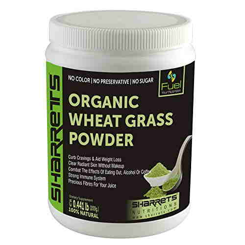 Sharrets Nutritions Organic Wheatgrass Powder (200gm)