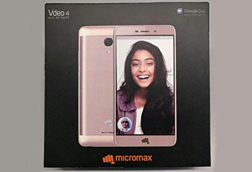 Micromax Vdeo 4 Q4251 (Micromax Q4251) 16GB Champagne Mobile