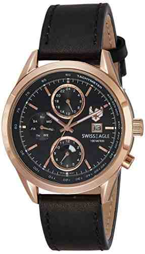 Swiss Eagle SE-9093LS-RG-01 Analog Watch