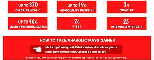 Nutrimed Anabolic Mass Gainer (1Kg, Chocolate)