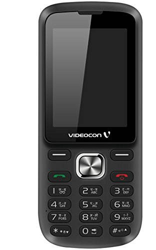 Videocon Bazoomba (Videocon V2DA) Black Mobile