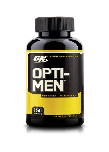 Optimum Nutrition Opti-Men Supplements (150 Tablets)