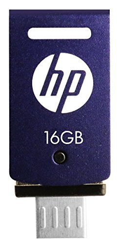 HP V520M 16 GB OTG Pen Drive Blue