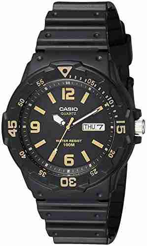 Casio Youth MRW-200H-1B3VDF (A1183) Analog Black Dial Men's Watch (MRW-200H-1B3VDF (A1183))