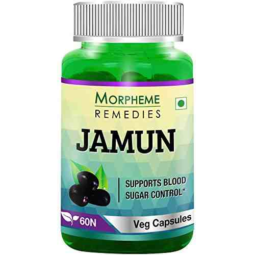 Morpheme Remedies Jamun Supplements (60 Capsules)