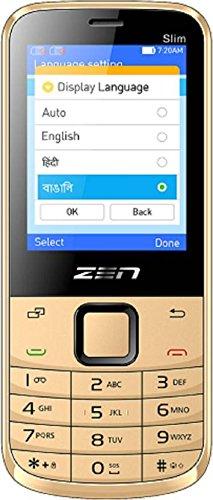 ZEN M72 Slim Golden Mobile