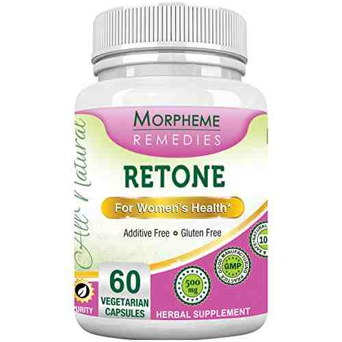 Morpheme Remedies Retone 500mg Extract Supplements (60 Capsules)