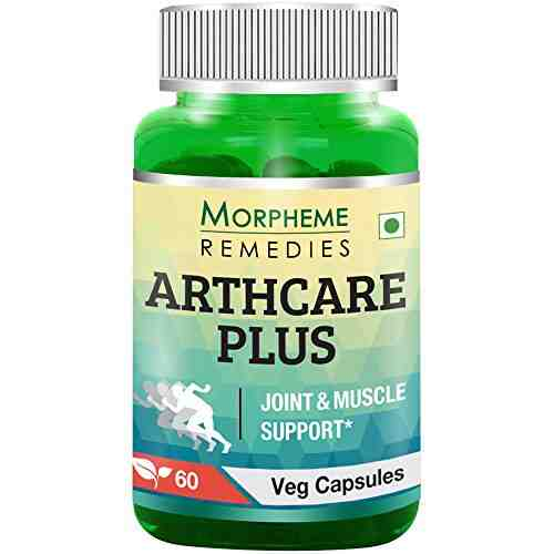 Morpheme Remedies Arthcare Plus 500mg Supplement (60 Capsules) - Pack Of 3