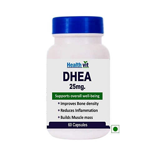 Healthvit DHEA 25mg Supplement (60 Capsules)